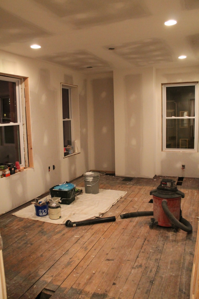 drywall and home renovation